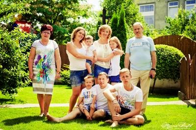Large friendly family/Большая дружная семья