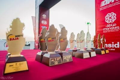 Fifth round of Qatar Manateq Baja Champioship. 22.12.18. Winner's reward ceremony
