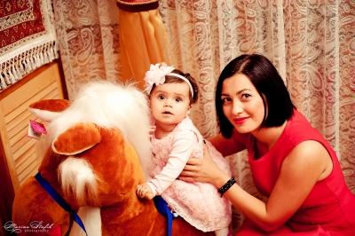 Arina's first birthday/Годик малышке Ариночке